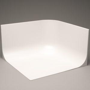 "MyStudio® MS20CYC Seamless Background for Lightbox  20""x 20""x 12"""