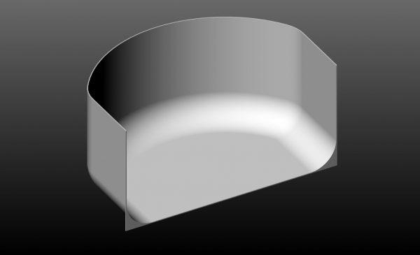 "MyStudio® US31CYC Seamless Background for Lightbox  31""x 19""x 16"""