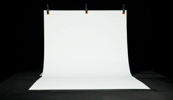 "MyStudio® VS36WB White Seamless Background Sweep 36""x 72"""