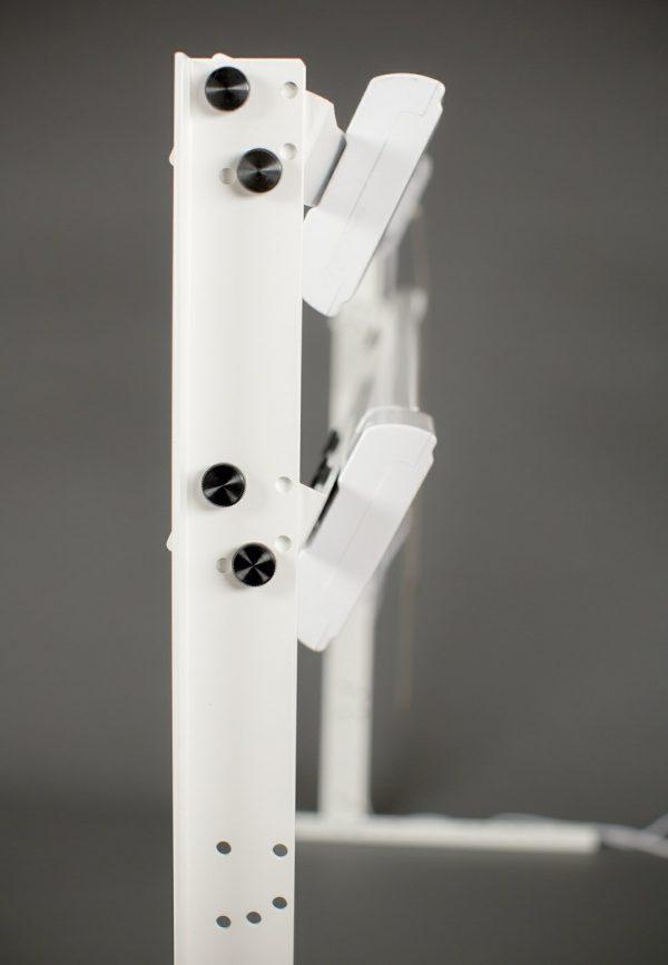 """MyStudio® VS53LK 2-light LED Studio Lighting Kit with 48"""" 5000K Lights"""