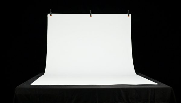 "MyStudio® VS53WB White Seamless Background Sweep 53""x 96"""